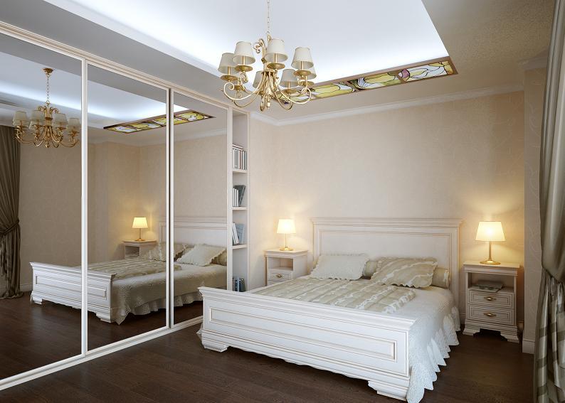 Sypialnia – mariaż stylów i szafa z podwójną funkcją.  Abartremonty